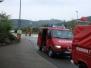 Einsatz: Ölspur am Kreisverkehr