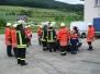 Übung: Technische Hilfe am PKW in Dörlinbach