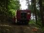 Einsatz: Brand einer Waldhütte in Reichenbach