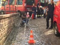 Feuerwehr präsentierte sich auf dem Bauernmarkt