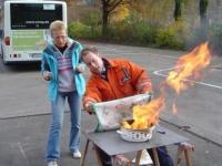 Brandschutzfortbildung der Praxis Schwehr