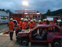 Gemeinsame Übung der Feuerwehren Seelbach und Dörlinbach