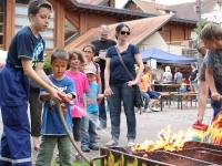 Jugendfeuerwehr unterstützt Familientag der Werbegemeinschaft