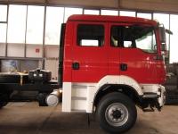Fahrgestell für den neuen Gerätewagen Logistik 2 eingetroffen