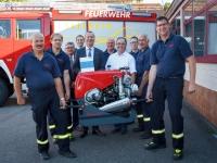 BGV übergibt Tragkraftspritze an Freiwillige Feuerwehr