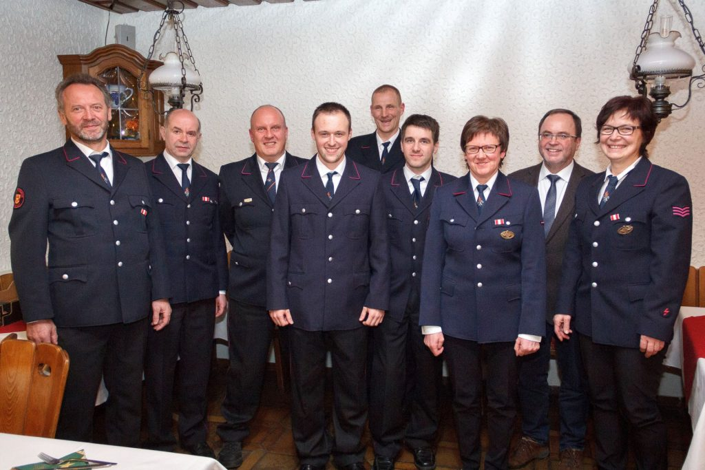 Das neue Abteilungskommando der Abteilung Schönberg