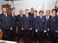 Neues Abteilungskommando auf dem Schönberg gewählt